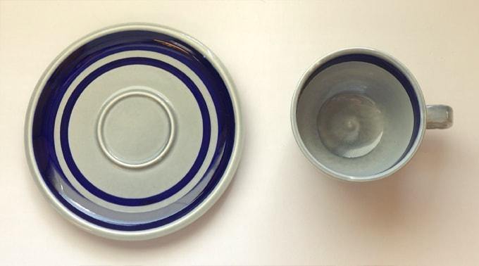 BOCHカップ&ソーサー ビンテージbaltic