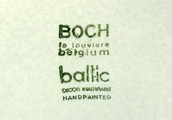 ベルギーBOCH刻印