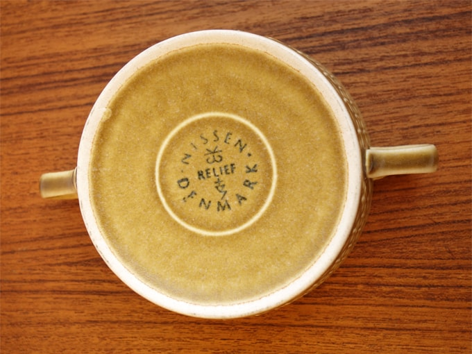 Jens.H.Quistgaard 陶器 刻印