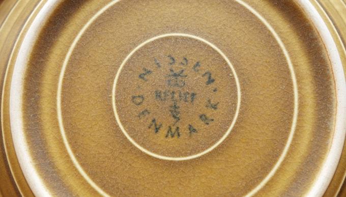 Jens.H.Quistgaard 食器 刻印