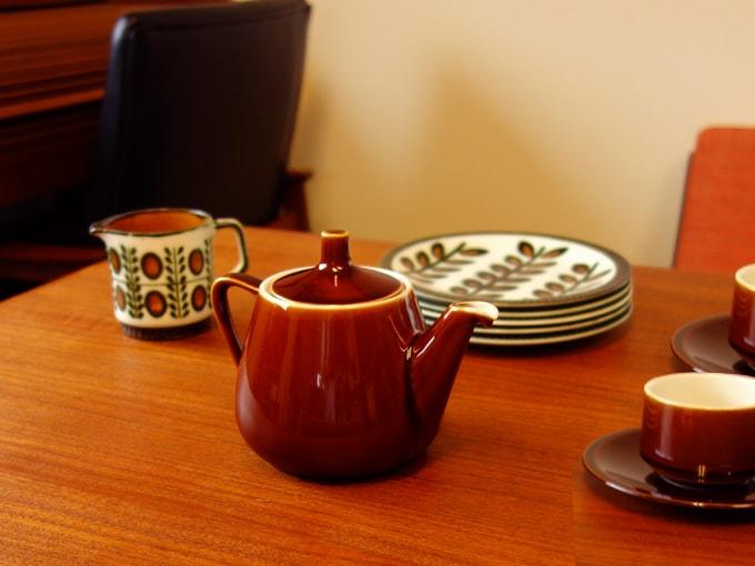 ビレロイボッホ陶器ティーポット