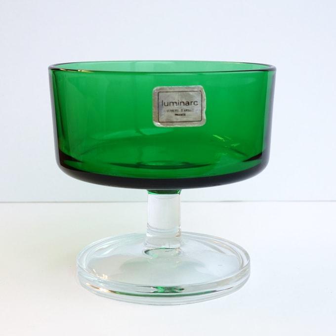 フランス製ヴィンテージ・シャーベットグラス