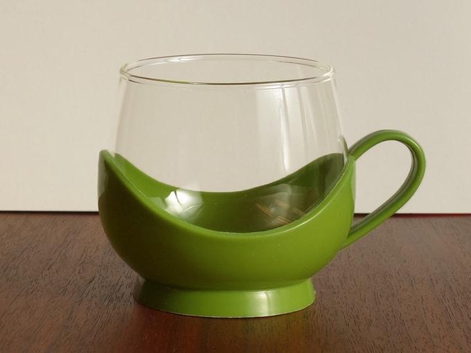 ヴィンテージ ガラスカップ Melitta製