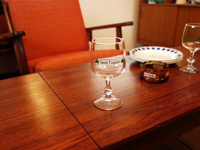 ビンテージのアイリッシュコーヒーグラス