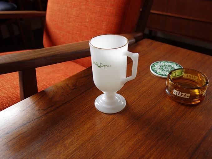 ヴィンテージ グラスマグ Irish Coffee