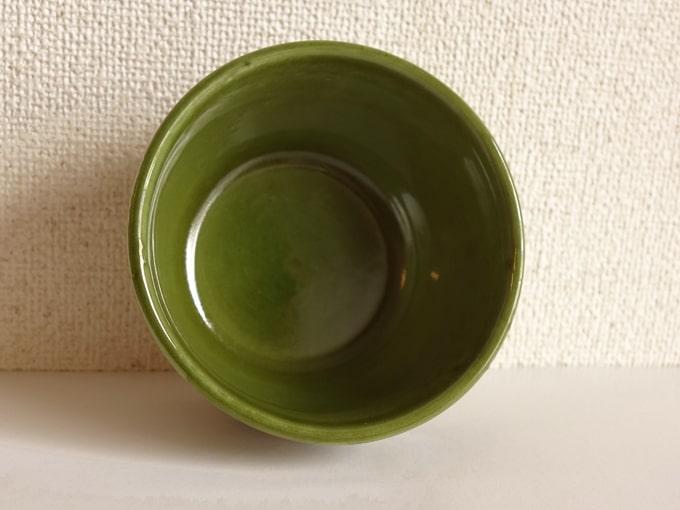 ベルギーのヴィンテージミニボウル 緑