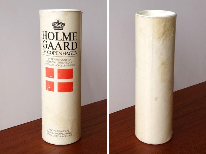 ビンテージ ロイヤルコペンハーゲン グラス箱