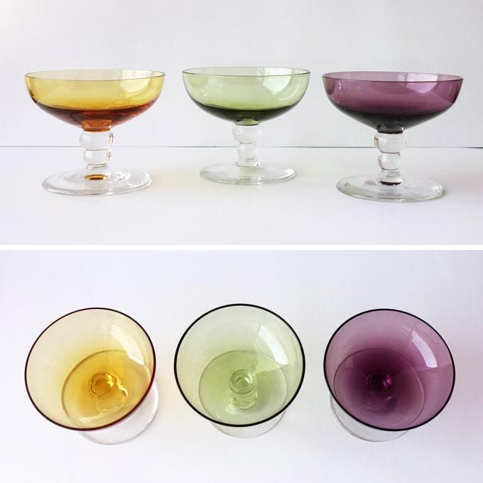 オランダ製ヴィンテージ リキュールグラス