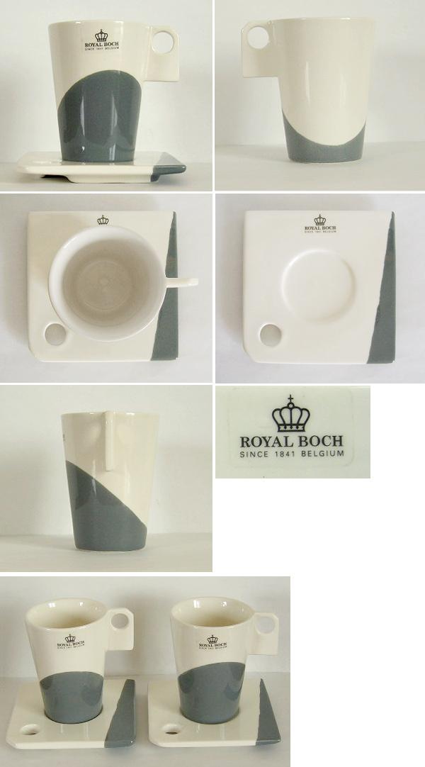 tw0175 Royal Boch(ロイヤルボッホ)のカップ&ソーサー2客セット
